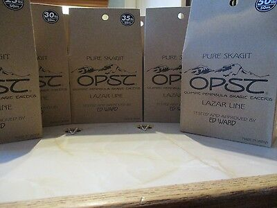 OPST SP Lazar Skagit, Scandi & Spey Shooting Head Green Running Line 6 Options