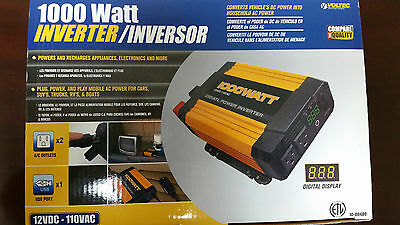 Voltec 1000 Watt Power Inverter
