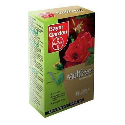 Pack Bayer Multi Rose Concentrate 2 100ml Garden Pest Control