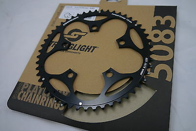 Stronglight 5 Arm 110mm Black Alloy Chainring 9 / 10 Speed
