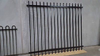 Heavy Duty Security Fencing, Spear Top Fence Panels 2400 High