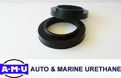 QLD MADE POLYURETHANE COIL SPRING SPACERS REAR Only x 20mm Fits Toyota Prado