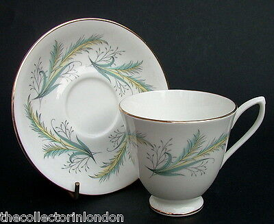 Vintage 1980's Royal Albert Festival? Pattern Coffee Cups & Saucers Looks in VGC