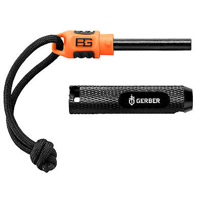 Gerber Bear Grylls Compact Fire Starter Bushcraft Survival Camping Scouts