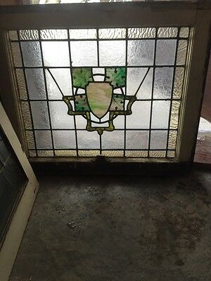 Sg 492 Antique Stainglass Window Textured Design