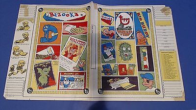 1968 Topps Wacky Packages Batty Book Covers #5 Nutty Initials Ugly Stickers