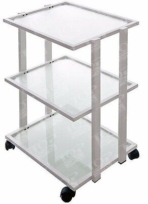 Three Glass Shelf-cart trolley