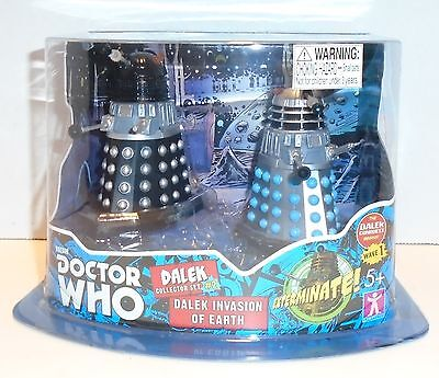 """DOCTOR WHO """"DALEK COLLECTOR SET #2"""" Dalek Invasion of Earth NEW"""