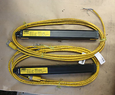 BANNER MSE1224 MSR1224 Machine Guard Light Curtain send receive pair 300mm CABLE