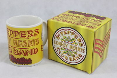 Official The Beatles Sergeant Pepper Mug In Presentation Box New