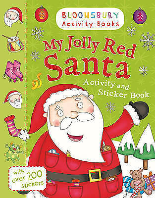 My Jolly Red Santa Activity and Sticker Book (Holiday Activity and Sticker Books