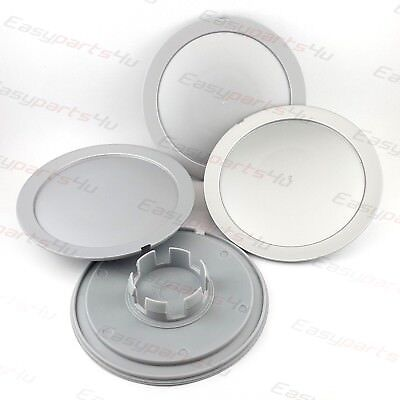 4x  ALLOY WHEEL HUB CENTRE CAPS 147mm / 57mm / 19mm AUDI VW GOLF SKODA