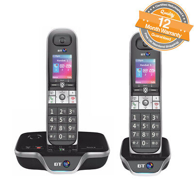 BT 8600 Twin Digital Cordless Answerphone With Advanced Call Blocker