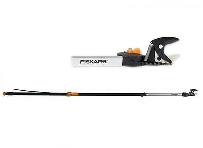 FISKARS TELESCOPIC UNIVERSAL CUTTER - TREE PRUNER UP86 ADJUSTABLE FROM 2.4m - 4m
