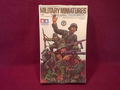 Tamiya Military Wwii 1:35 Kit Mm-130A German Assault Troops Infantry - Nib