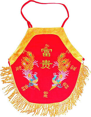 New Chinese baby out-fit, Bib phoenix, 3-12 monthes