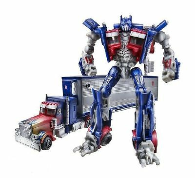 Transformers Optimus Prime With Trailer Dotm Action Figure New In Box