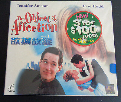 THE OBJECT OF MY AFFECTION Video CD VCD New 1998 English Chinese Subtitles RARE