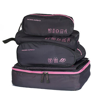 5pcs Travel Luggage Organizer Set Waterproof Packing Cube Pouch Storage Bags