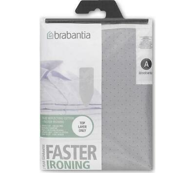 BRABANTIA IRONING BOARD COVER A 110 x 30cm - SILVER / METALLISED