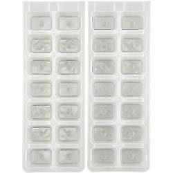 Chef Aid Ice Cube Tray Set of 2 W6639