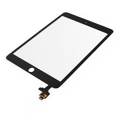 New iPad Mini 3 Glass Digitizer Touch Screen IC Chip Flex BLACK Assembly