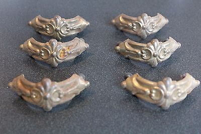 Set Of 6 Art Deco Furniture Drawer Pull ,antique Pull Handle