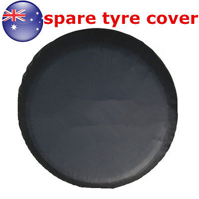 """15""""  Black Spare Tire Cover Wheel Tyre Covers for all Diameter 70~75cm"""