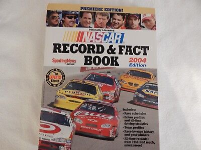 NASCAR Record and Fact Book by NASCAR Staff EXCELLENT CONDITION! NEVER OPENED!