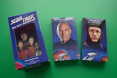 Star Trek boxed VHS set Special Collector's Edition