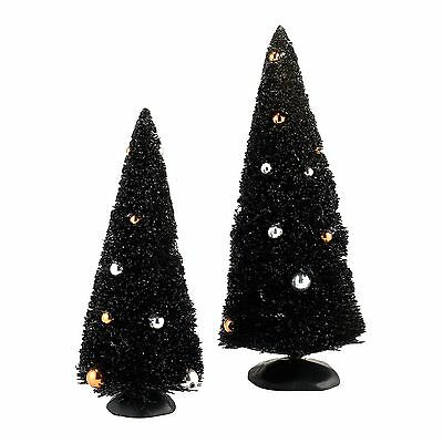 Dept 56 SV Halloween Village Midnight Siasal, set of 2  #4033853 New!