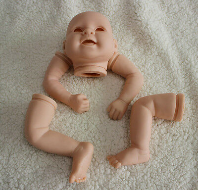 20 inch soft vinyl reborn babies silicone doll part for sale dk-3