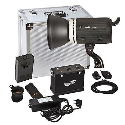 PHOTAREX Porty TA-600 AC/DC Flash Head Monolight Strobe - 600Ws - Bowens Mount