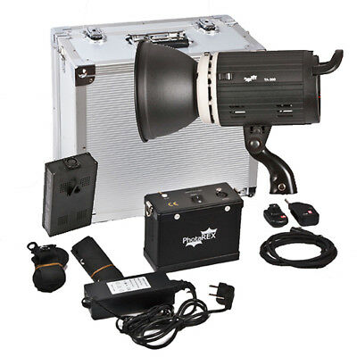 PHOTAREX Porty TA-400 AC/DC Flash Head Monolight Strobe - 400Ws  - Bowens Mount