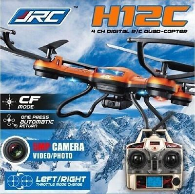 JJRC H12C 4ch Headless Mode -1 Key Return RC Quadcopter With 5MP HD Camera Drone