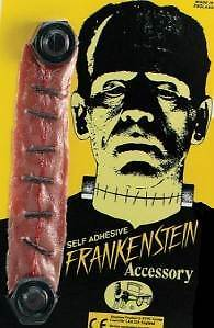 Franky Bolts Stitched Throat Halloween Frankenstein Monster #us
