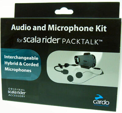 Cardo Scala Rider Audio & Microphone Kit for PACKTALK / SMARTPACK