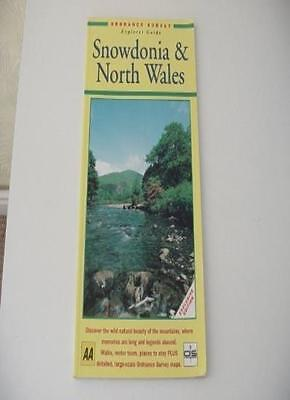 Snowdonia (Ordnance Survey Leisure Guide) By Automobile Association of Britain