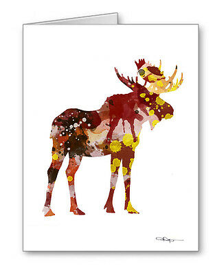 MOOSE Note Cards With Envelopes