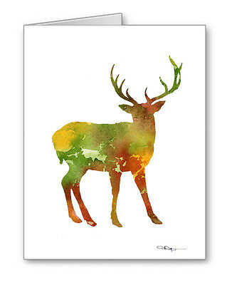 DEER Note Cards With Envelopes