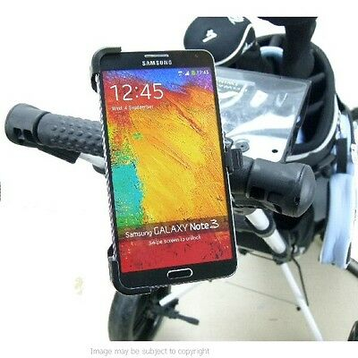 Golf Trolley Mount with Dedicated Phone Holder for Galaxy Note 3