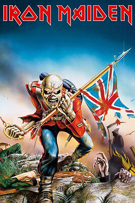 Iron Maiden Trooper Music Poster Print New 24x36