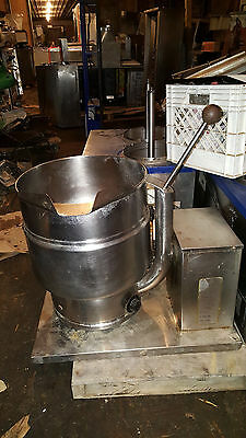 Groen TDB/7-20 Quart Tilting Jacketed Steam Kettle Soup Stainless Steel Electric
