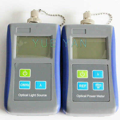 Digital Handheld Optical Light Source Optical Power Meter Can Change Adapters