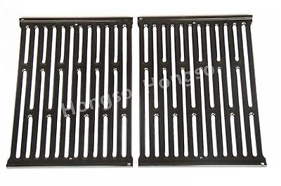 7523 Porcelain Enameled Cooking Grates Replacement for  Weber Genesis Silver A