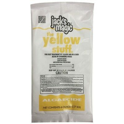 Jacks Magic JMYELLOW0660 6OZ The Yellow Stuff Bag