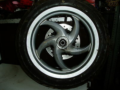 Piaggio Fly Front Wheel, Disc and Tyre Maxxis 120/70-12
