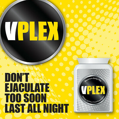 Vplex Maximum Delay Pills Don'T Ejaculate Too Soon Last All Night Porn Sex