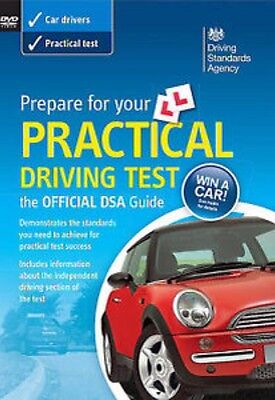The Official DVSA PRACTICAL DRIVING TEST GUIDE DVD DRIVING TEST NEW SEALED