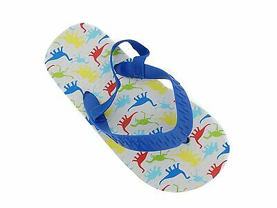 Wholesale Lot New 72 Pairs Toddler Boys Assorted Printed Flip Flops